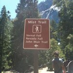 Trailhead for the Mist Trail