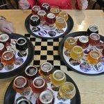 8 beer sampler