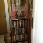 The movie selection at August Seven - have some popcorn!