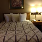 Our room - 2 double beds