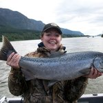 Fall Chinook King Salmon Runs are largest.
