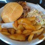 Pulled Pork, Fries & Slaw