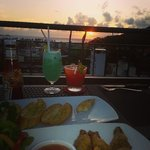 Sunset dinner on level 5