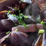 Our Mussels dish