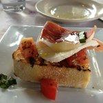 Lugano appetizer