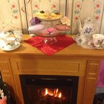 Victorian style tearoom designed for our youngest guests