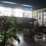 Atrium with breakfast area