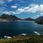 A view of Hout Bay from Chapman's Peak Drive