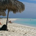 Playa Paraiso, Cayo Largo - Palapa Area