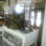 display of WW2 memorabilia