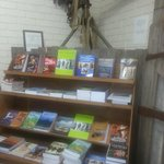 Vickers gun and our impressive array of war books