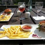 Burger at Pentrebach