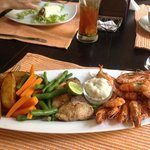 lovely seafood platter!