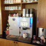 Kostenloser Kaffee - den ganzen Tag