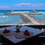 View from Lezat Beach Restaurant and Ashyana