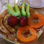 frutta a cena