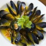 Fresh black lip mussel's from South Australia