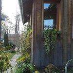 El jardin exterior también precioso