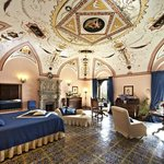 Suite with Hand Painted Ceiling