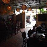 The restaurant/bar