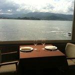 Restaurante Nautico Panxon - vistas desde el comedor