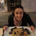bigoli con mezza laguna di venezia wow :)