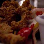 Tai chicken with sweet chili sauce