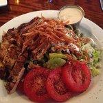 Riveras Bleu Salad with Grilled Chicken....Yummy!
