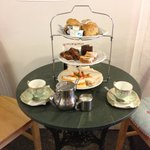 Afternoon tea at the wild strawberry