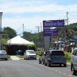 Parking area (Borneo cove hotel)