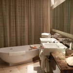 Banheiro da suite corner