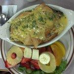 Croissant Eggs Benadict