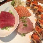 Sushi Plate at Koi