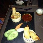 Beautifully presented A La Carte Food!