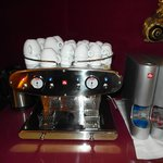 Automatic Coffe machine always available