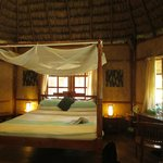 Inside a Nicobari Cottage