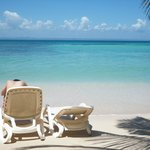 Playa privada Blue Flag