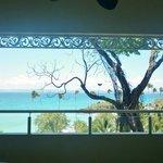 balcon de la habitacion Junior Suite en la villa 4