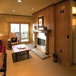 Lodge suites are our smallest room, but still larger than average and with a full kitchen