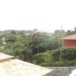 Vista da varanda do meu quarto - suite jardim