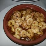 delicious prawns in garlic and butter