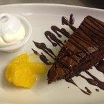 Wheat free chocolate torte