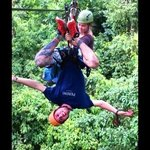 canopy and rappelling with Malena and Christian