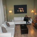 Salón/sala con tv