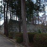 三の丸瓦門石垣