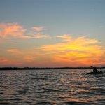 Full Moon Kayak, Sunset Rookery Bay