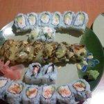 Crunch Roll, Montgomery Roll, Louisiana Roll $11.00 Lunch