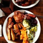 Amazing roast from the cock inn!