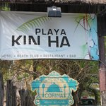 Sign for Hotel- easy to miss
