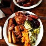 Add a captions maxing roast! just solid good food, and outstanding staff